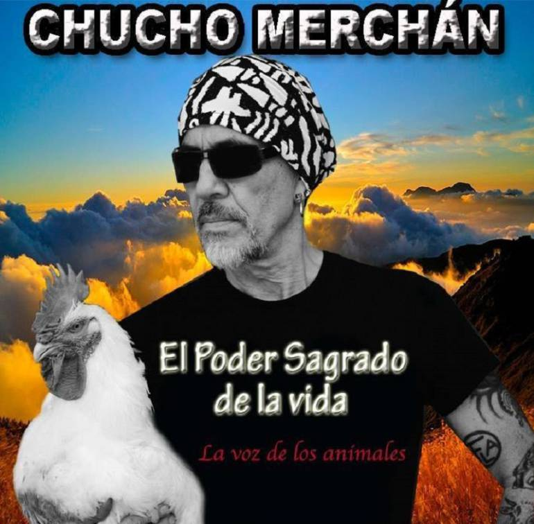 Chucho Merchán el rockero animalista
