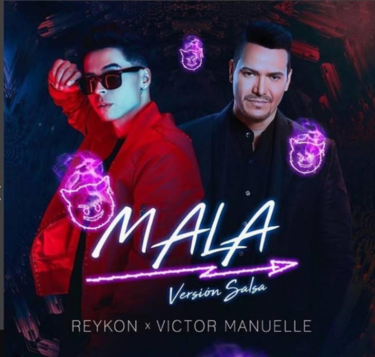 Reykon y Victor Manuelle