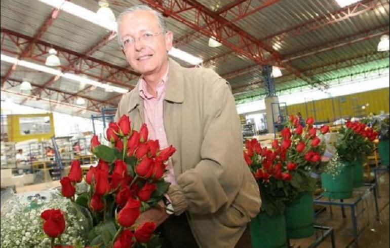 Augusto Solano, presidente de Asocolflores