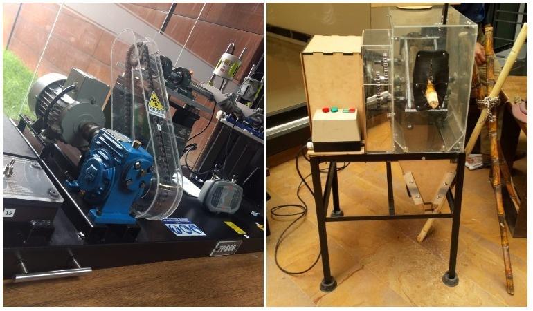 Máquinas desarrolladas en la Escuela Colombiana de Ingeniería Julio Garavito