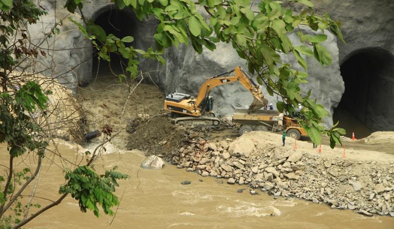 Hidroituango: Nuevas filtraciones se presentaron en zona del proyecto Hidroituango