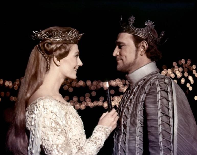 Camelot, película de 1967: Una boda real, de ensueño, digna de la realeza británica, en otro tiempo