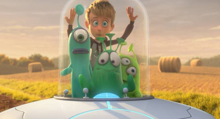 Luis y los Aliens, Película animada por cumputador: Luis y los Aliens, los extraterrestres convertidos en los mejores amigos