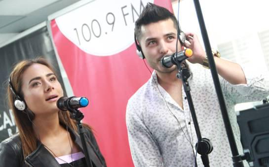 Johanna Fadul y Juan Sebastian Quintero