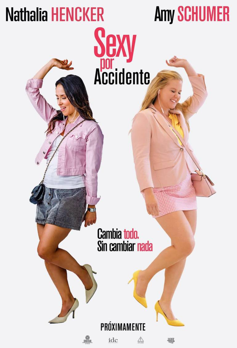 Nathalia Hencker, actriz de voz colombiana: Nathalia Hencker, actriz de voz colombiana, interpreta a Amy Schumer