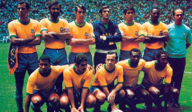Brasil, Mundial México 1970.