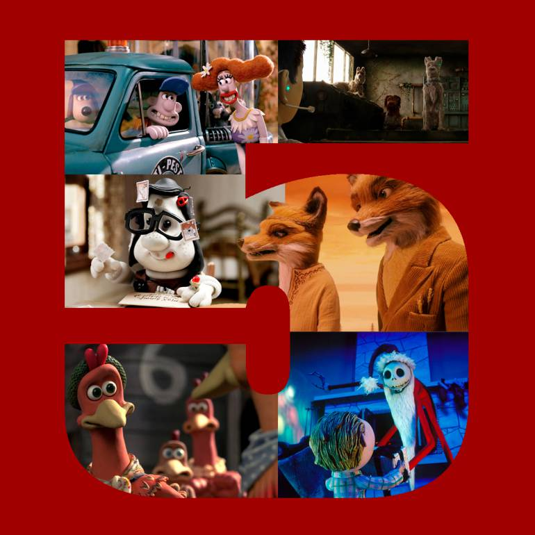 Top 5 de películas realizadas en stop motion: Top 5 de películas realizadas en Stop Motion