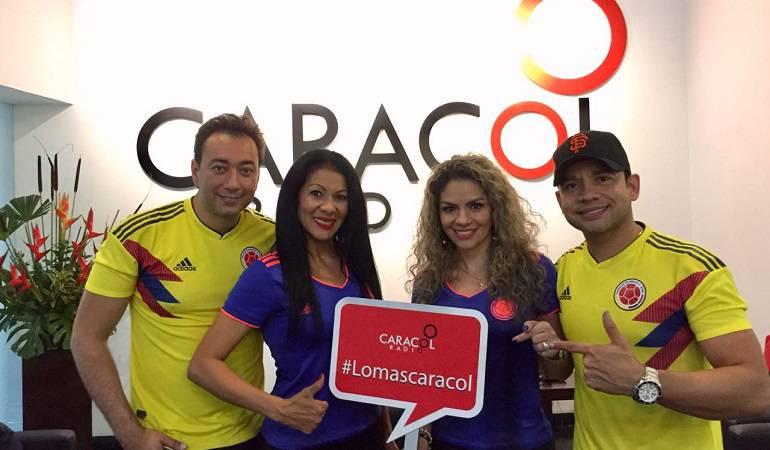 Lo Más Caracol: Las Extrellas le cantan a la Selección Colombia