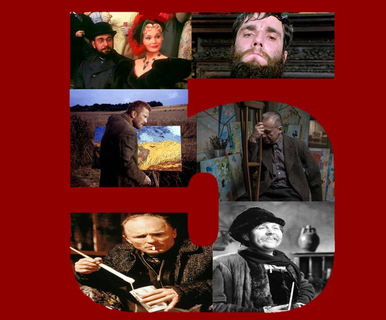 Top 5 de películas dramáticas sobre pintores: Top 5 de películas dramáticas sobre pintores