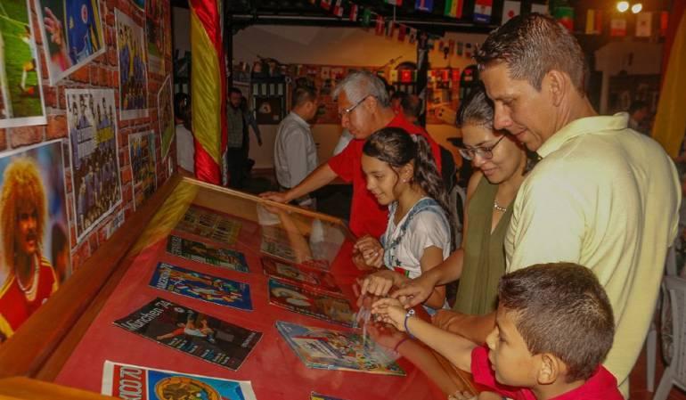 El Museo del Mundial que divierte a propios  y turistas de Floridablanca