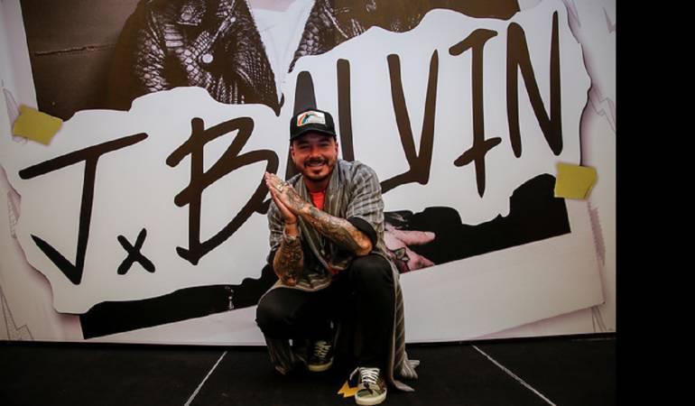 """J Balvin ahora es el """"Rey"""" de Spotify"""