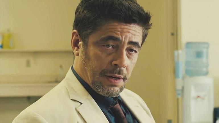 """Benicio del Toro, actor de cine: Benicio del Toro, """"Tiene un gran balance entre el suspenso y la acción"""""""