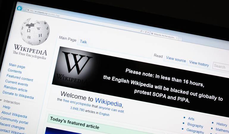 Lo Más Caracol: Wikipedia sobrevivió al intento de bloqueo