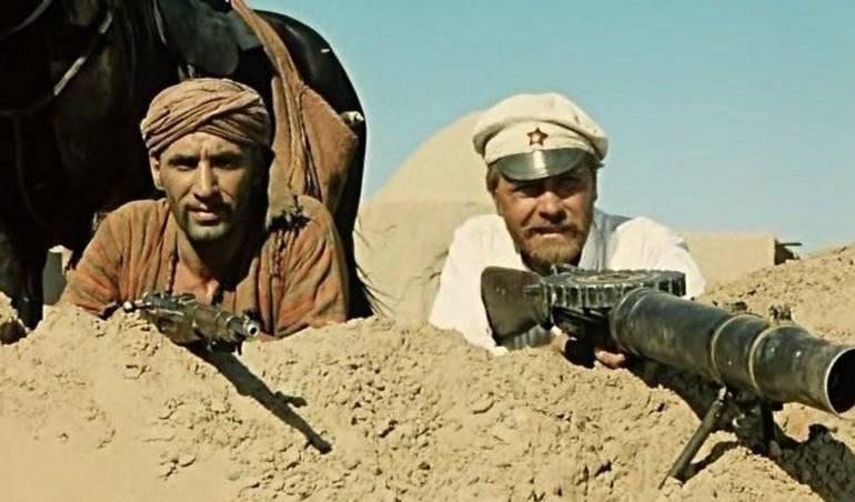 Sol Blanco del Desierto, película rusa: Sol Blanco del Desierto, la cinta que ven los cosmonautas antes de partir