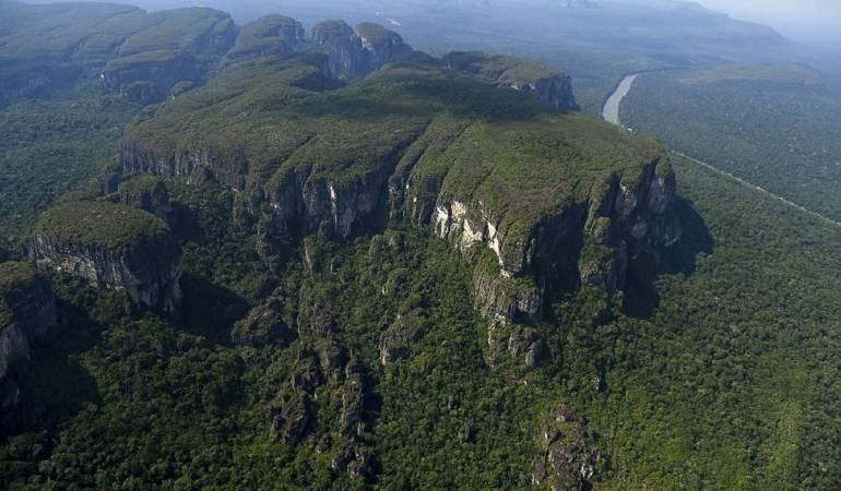 """""""Parque Chiribiquete"""" un sitio para cuidar y admirar"""