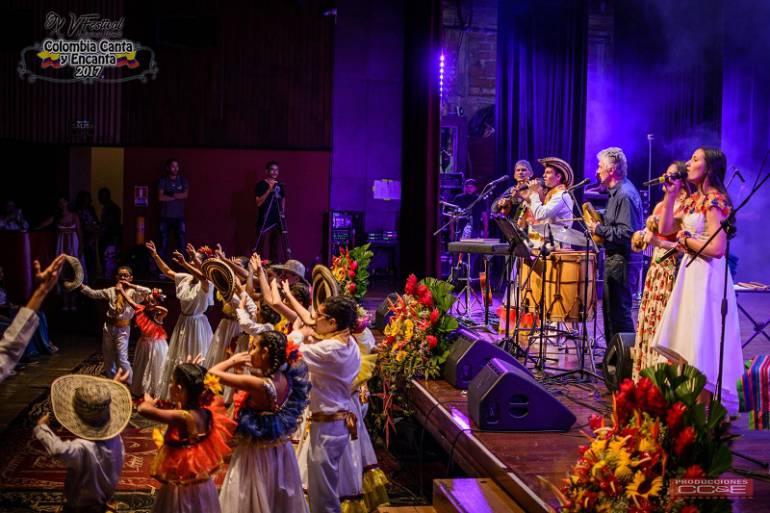 XVI Festival Colombia canta y encanta