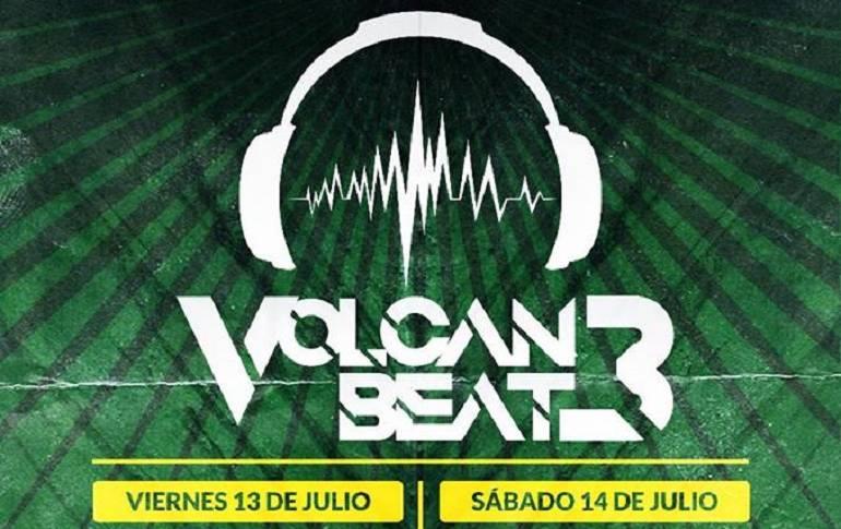 La música del Volcán Beat en Pasto