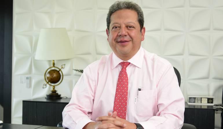 Presidente del Banco Agrario, Luis Enrique Dussán López