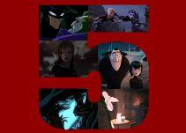 Top 5 de películas animadas de vampiros: Top 5 de películas animadas sobre vampiros