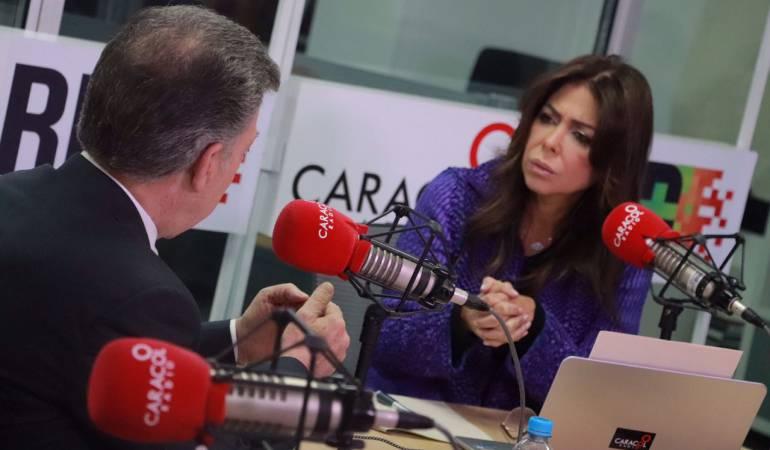 """HORA 20: """"Es estrambótico decir que en Colombia opera el MI6"""""""