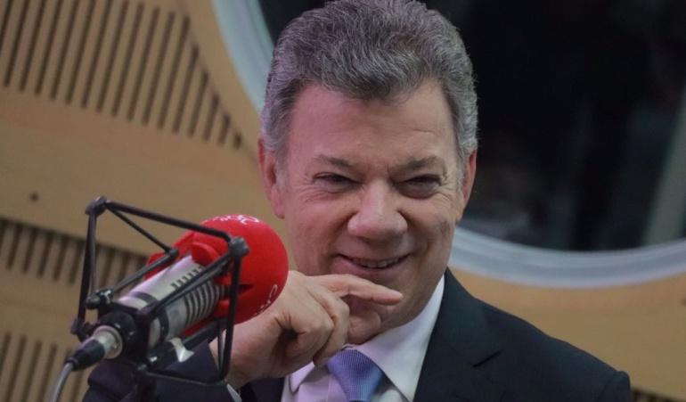 """Entrevista Santos en Caracol Radio: """"Odebrecht sí debe seguir trabajando en Colombia"""""""