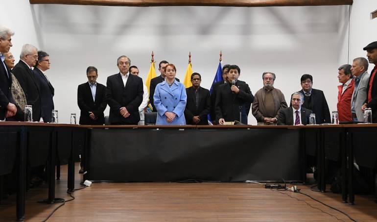 Proceso paz ELN: ELN pide a Iván Duque mantener mesa de diálogo