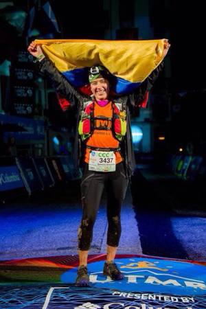 La atleta colombiana que conquista montañas