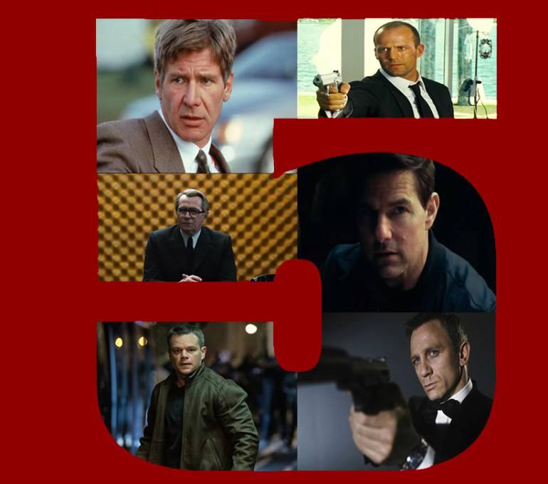 Top 5 de sagas de agentes secretos: Top 5 de agentes secretos