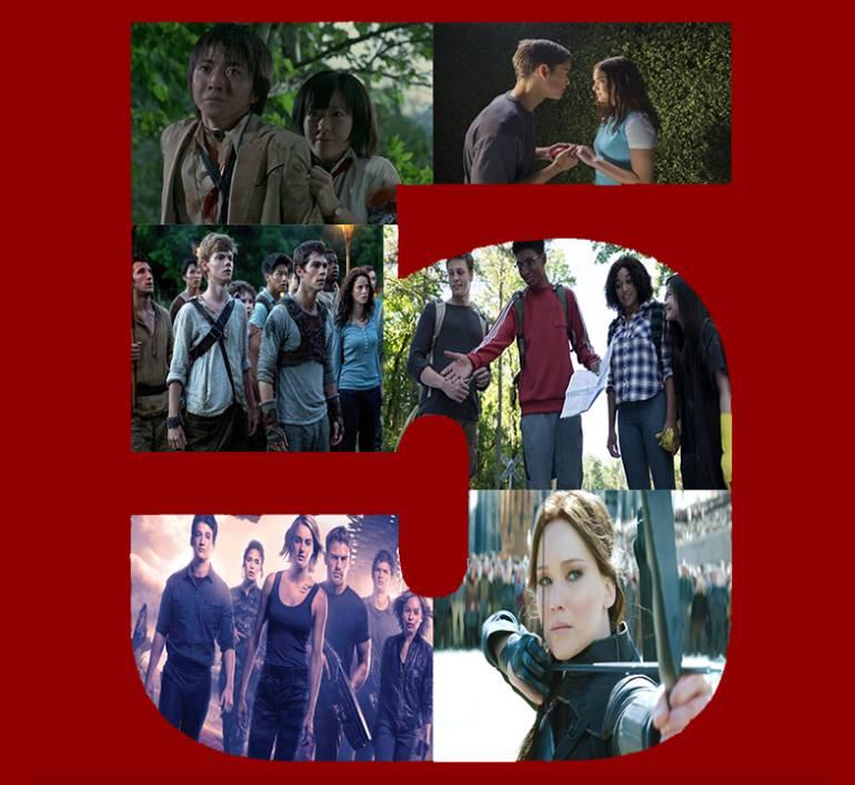 Top 5 de novelas juveniles de Sci-Fi llevadas al cine: Top 5 de novelas juveniles de Sci-Fi llevadas al cine