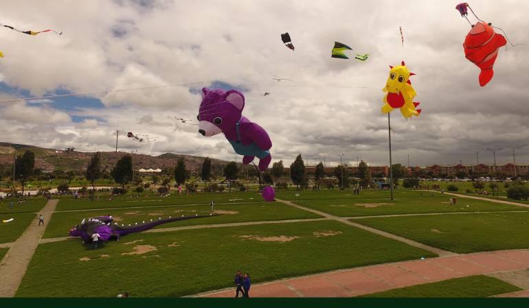 Cometas para el cielo Bogotano.