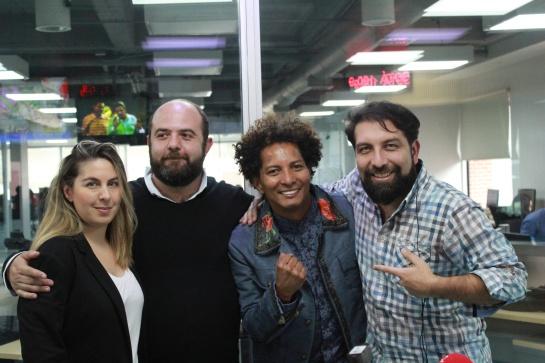 Juan Carlos Ensamble y el equipo de Dos y Punto