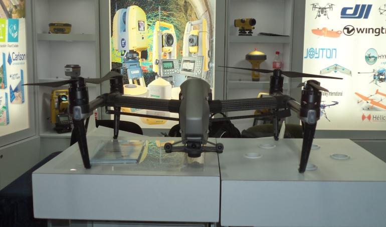 Drones en Expo Agrofuturo