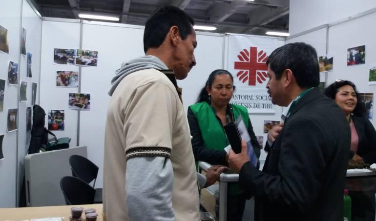 Campesinos de El Catatumbo en Expo Agrofuturo