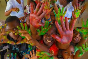 El Chocó, colorido pleno-