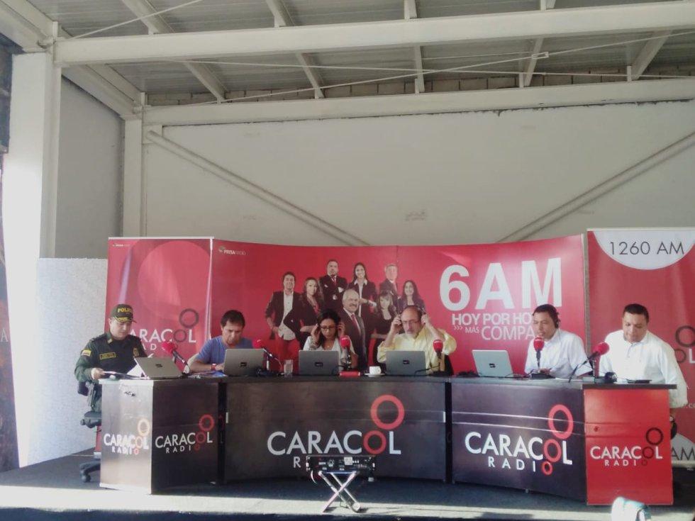 Erika Fontalvo, Juan Lozano, César Augusto Londoño y el popular Alerta están en la capital del Tolima con toda la información del evento y con hechos y personajes del departamento del Tolima.
