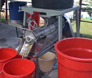 Beneficiaderos café: Diseñan máquina para lavar café con menos agua