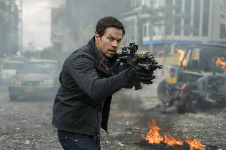 Milla 22: El Escape, película con Mark Wahlberg: Milla 22: El Escape, las calles de Bogotá, aplicadas al sudeste asiático