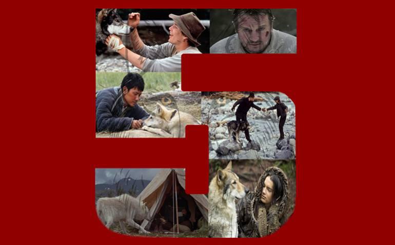 Top 5 de películas sobre relación entre hombres y lobos: Top 5 de películas sobre relaciones entre hombres y lobos