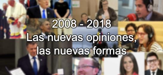 La opinión en Colombia. Caracol 70 años: Siete décadas de opinión en #Caracol70años