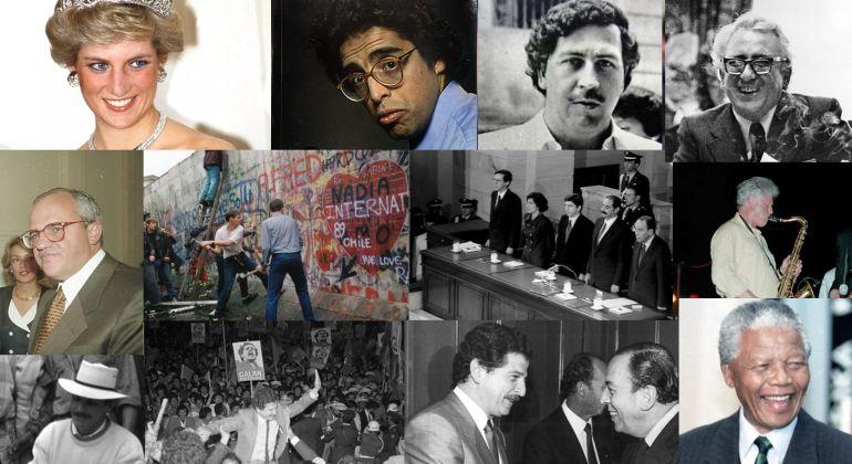 La opinión en Colombia . 70 años de Caracol: 1988 1998 Periodismo y héroes