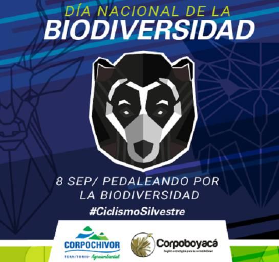 biodiversidad: Con ciclo-paseo celebran el Día Nacional de la Biodiversidad