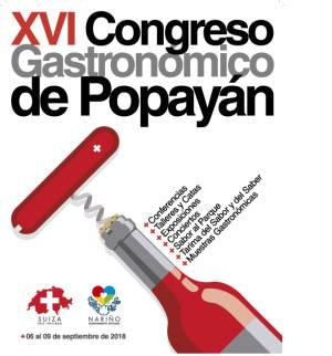Gastronomía: XVI Congreso Gastronómico de Popayán