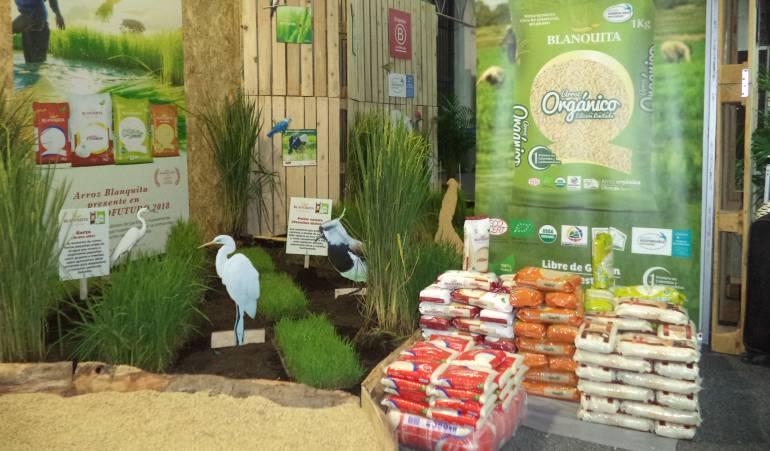 Arroz orgánico en Expo Agrofuturo