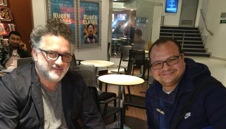 "Abner Benaim, director de cine, Yo No me Llamo Rubén Blades: Abner Benaim, ""Él me escogió a mí, mucho antes de yo pensar en hacerlo"""