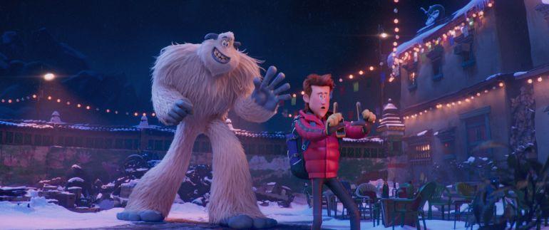 Smallfoot, Pie Pequeño, película de animación: Pie Pequeño, de nuevo un film desde el punto de vista de los monstruos