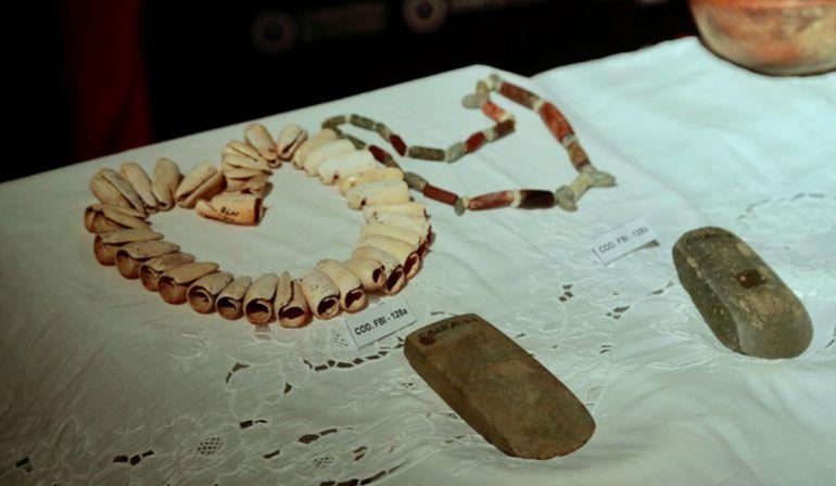 Lo Más Caracol: Colombia recupera 40 piezas arqueológicas precolombinas