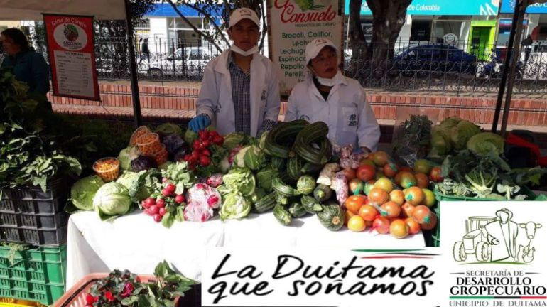 Mercado en Duitama