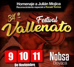 """Festival Vallenato con """"Ruana"""""""