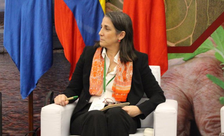 Mercedes Peñas Domingo, ex primera dama de Costa Rica