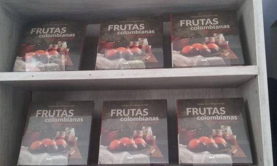 Libro sobre frutas: Frutas colombianas, origen que emociona